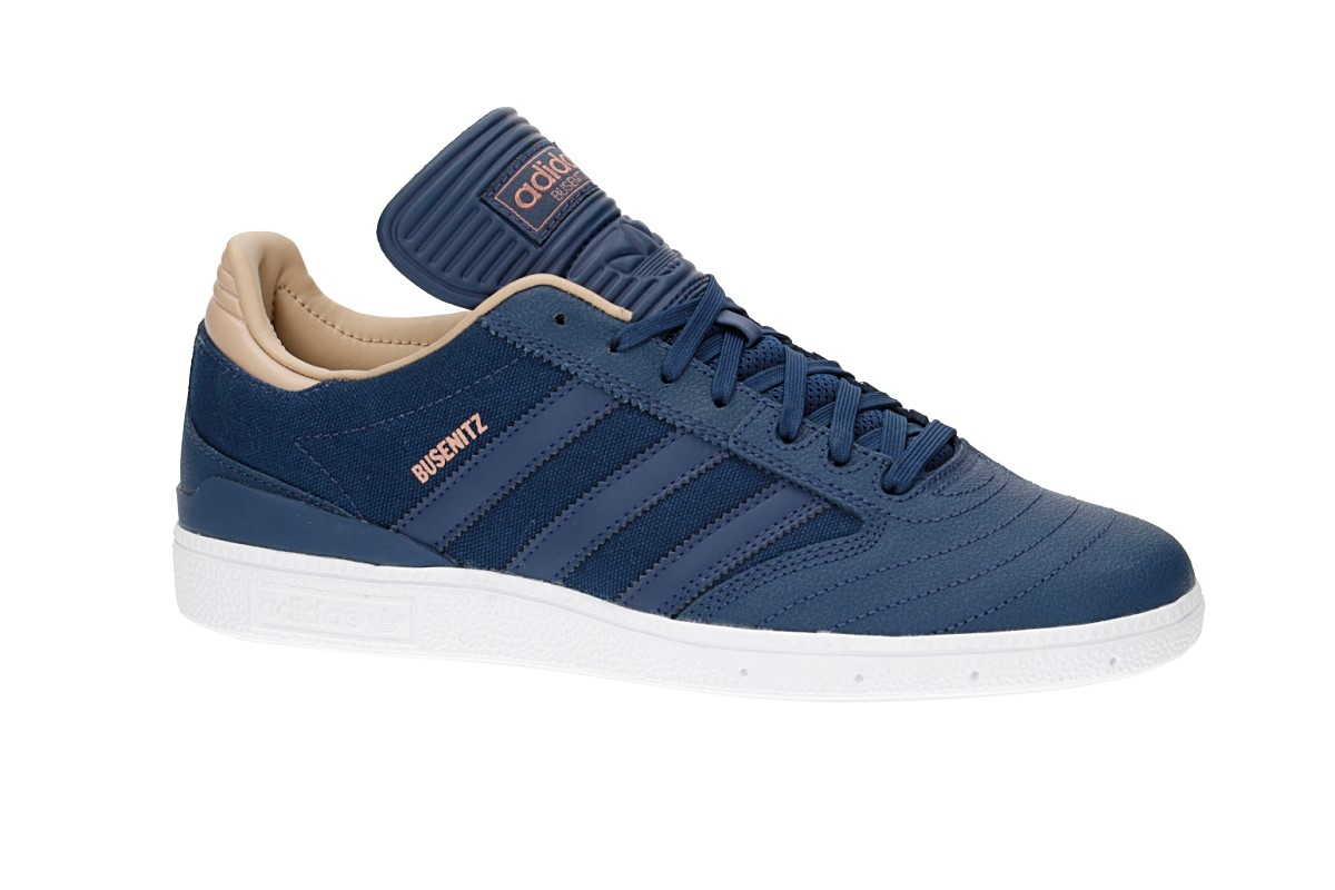 adidas Skateboarding Busenitz Shoes (mystery blue white pale nude)