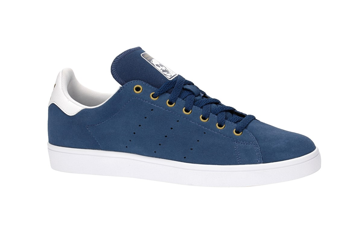 adidas Stan Smith Vulc Shoes (mystery blue white)