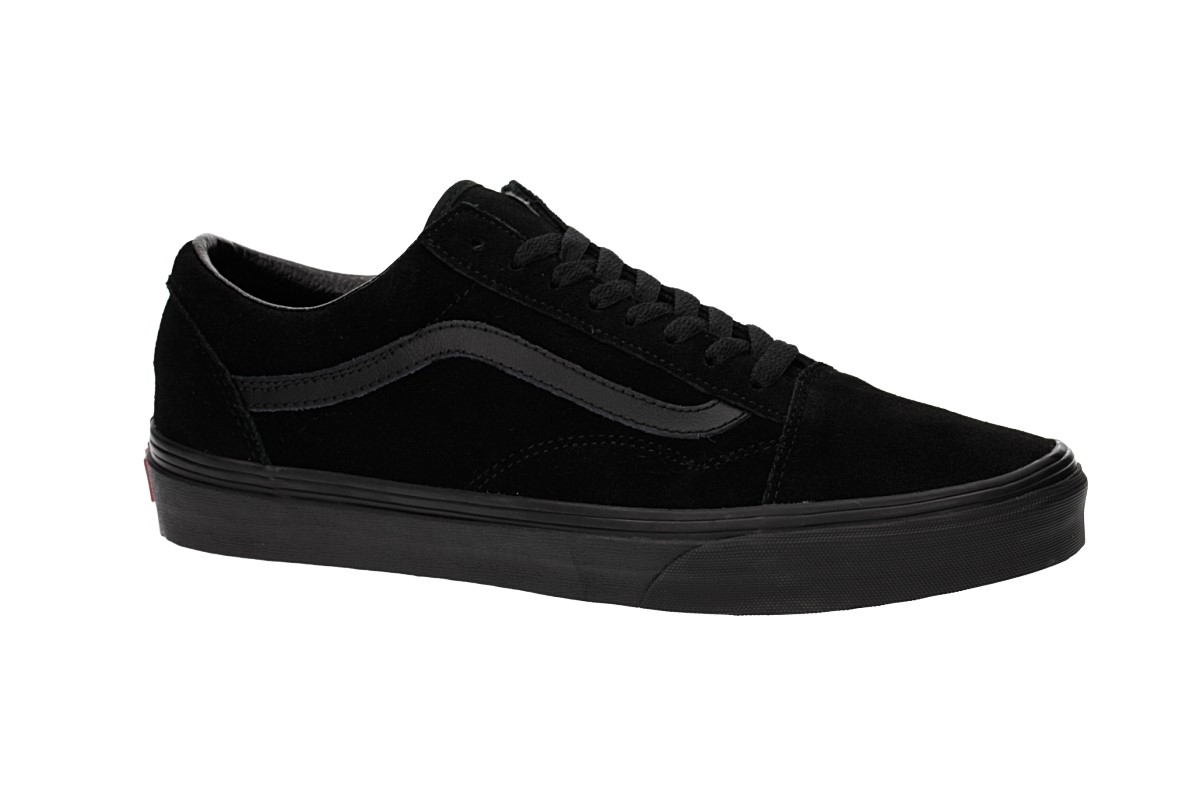3a2acae6b9 Vans Old Skool Suede Shoes (black black black) buy at skatedeluxe