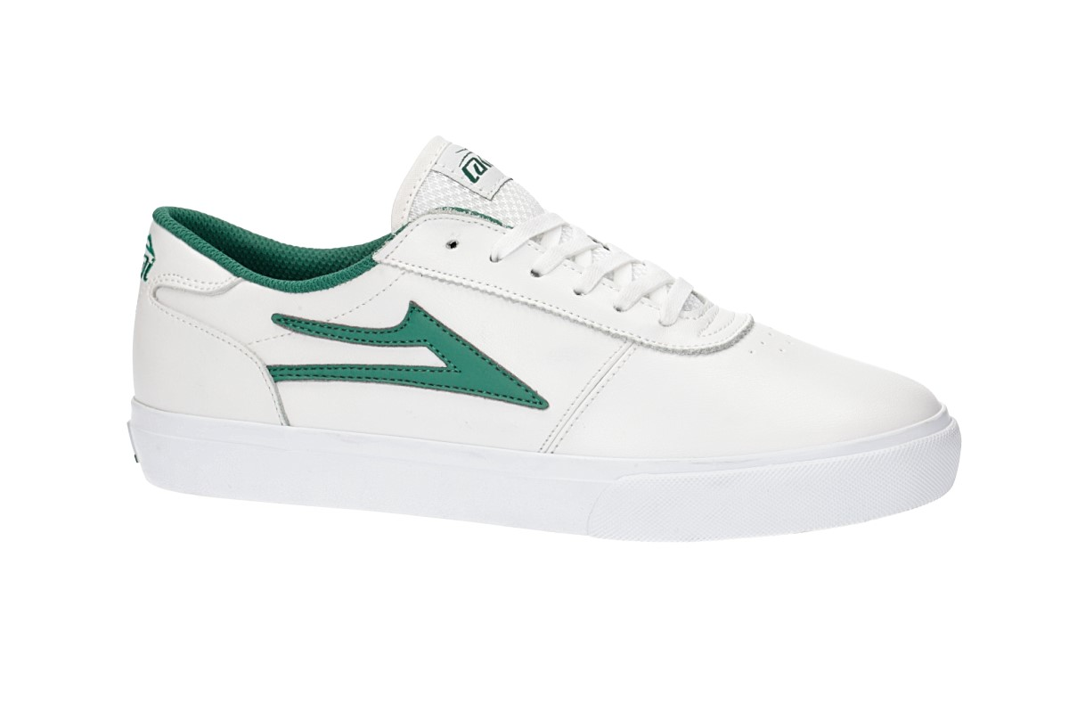 Lakai Manchester Leather Chaussure (white green)