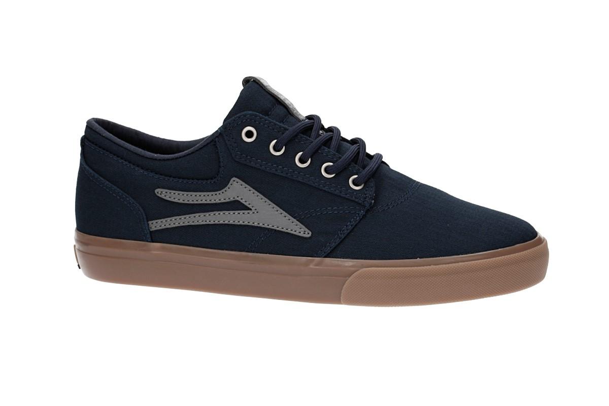 Lakai Griffin Canvas Chaussure (navy gum herringbone)