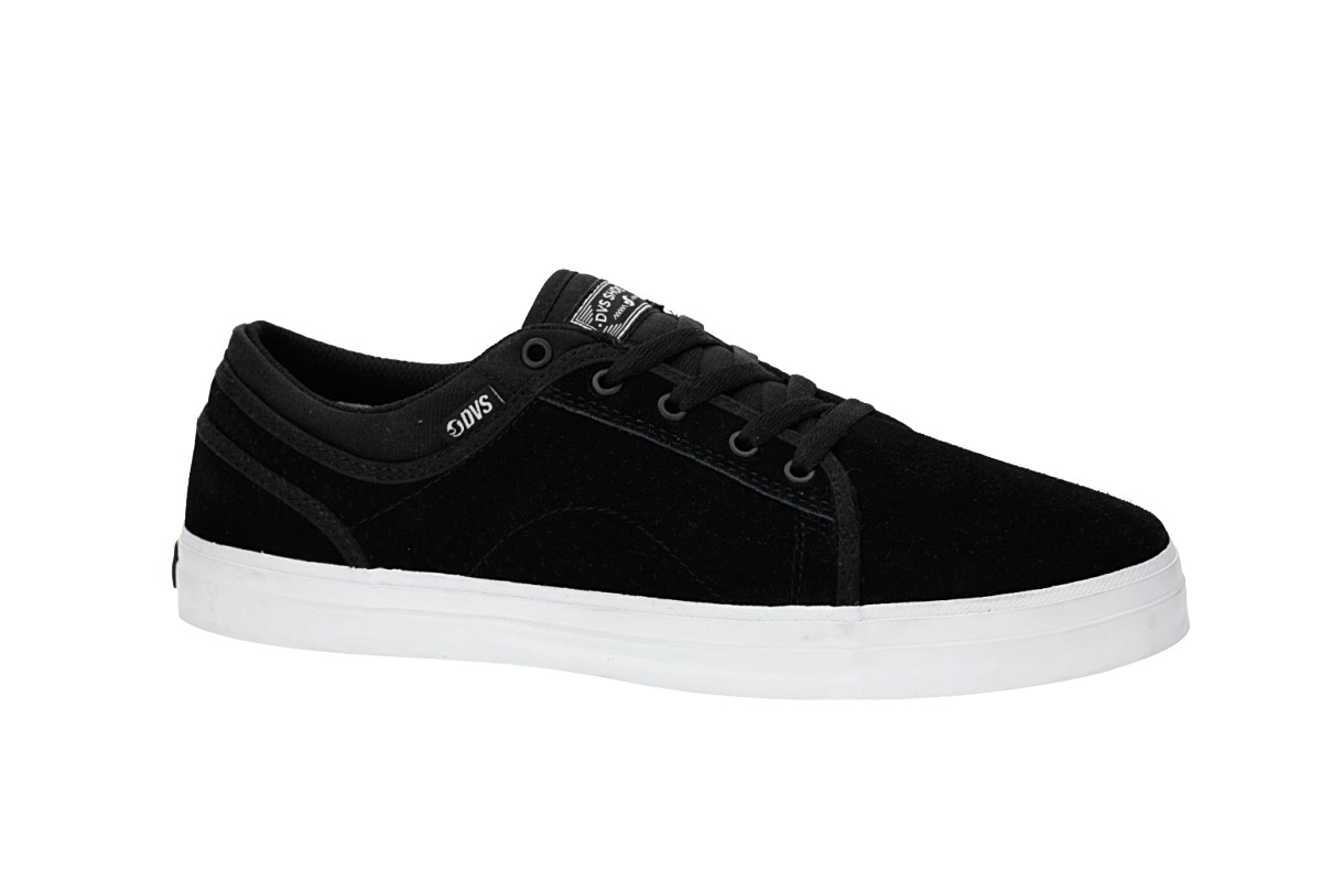 DVS Aversa Suede Shoes (black)