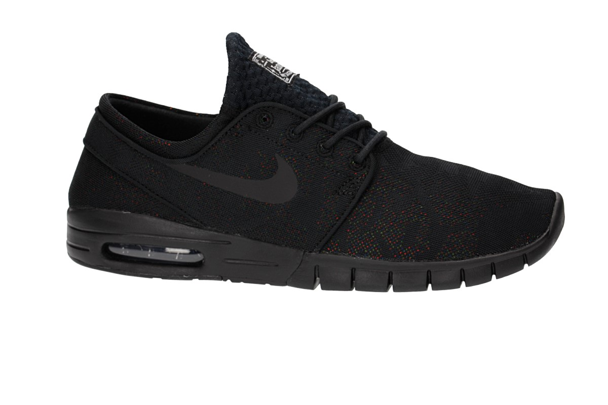 Nike SB Stefan Janoski Max Premium Shoes (black black photo blue white)