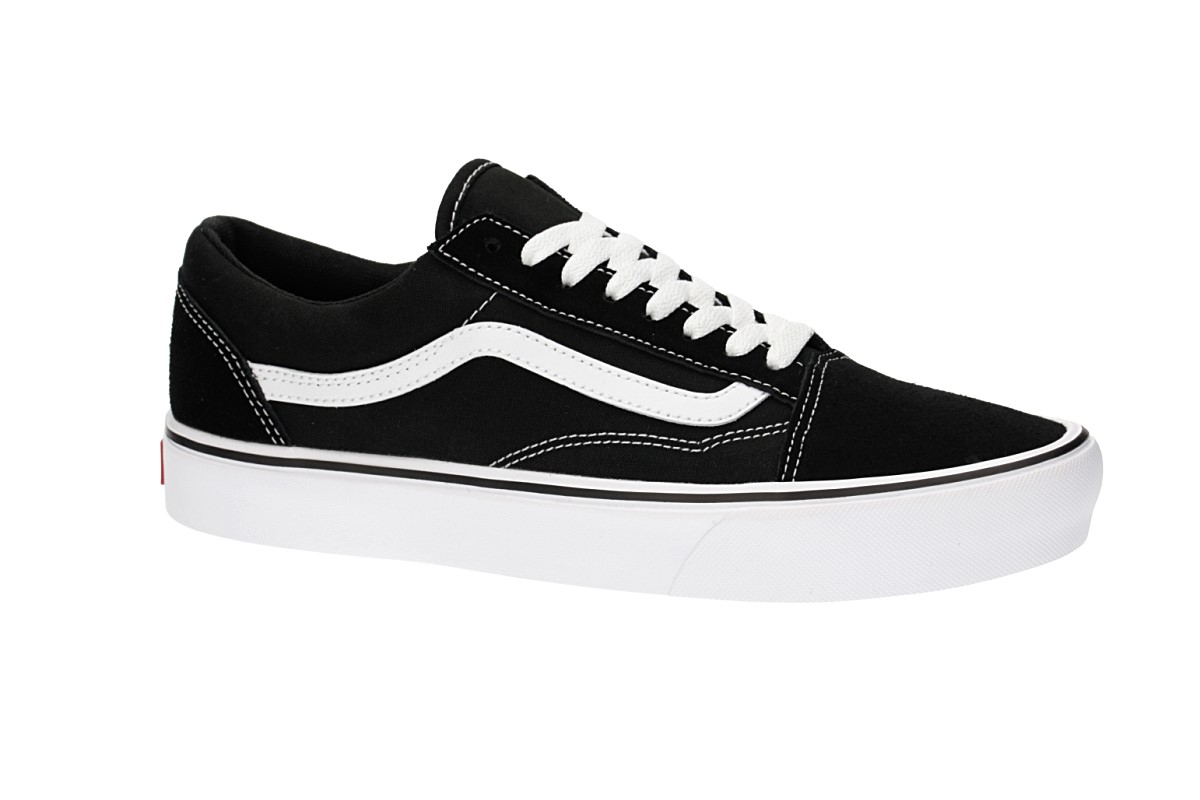 a0bab62ce279bd Vans Old Skool Lite Shoes (black white) buy at skatedeluxe