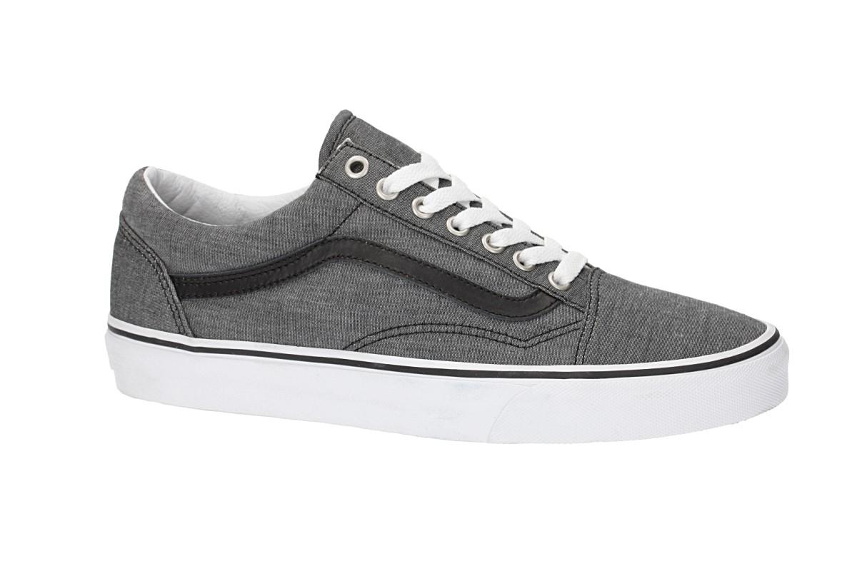 Vans Old Skool Shoes (chambray black)