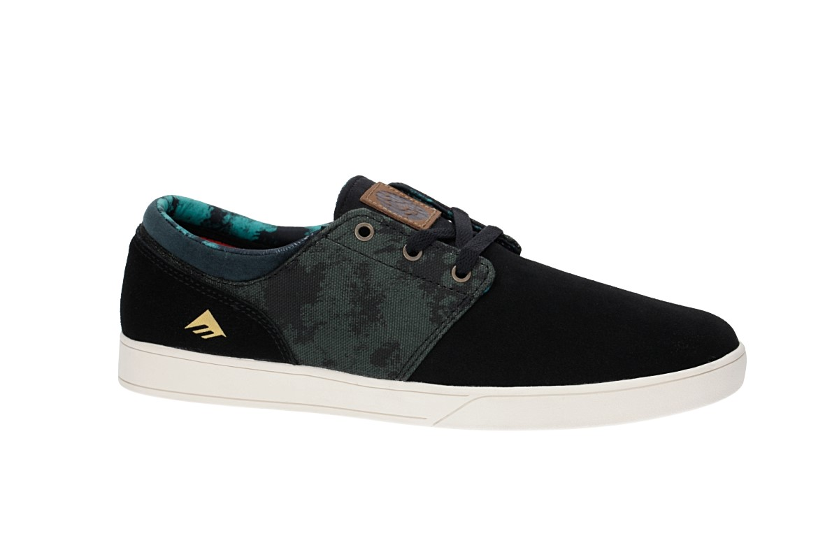 Emerica x Harsh Toke The Figueroa Shoes (black green)