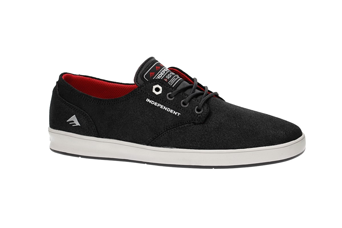 Emerica x Independent Romero Laced Zapatilla (black grey black)