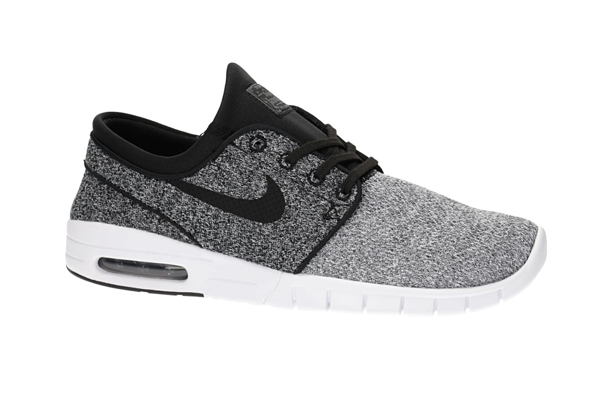 Nike SB Stefan Janoski Max Chaussure (white black dark grey)