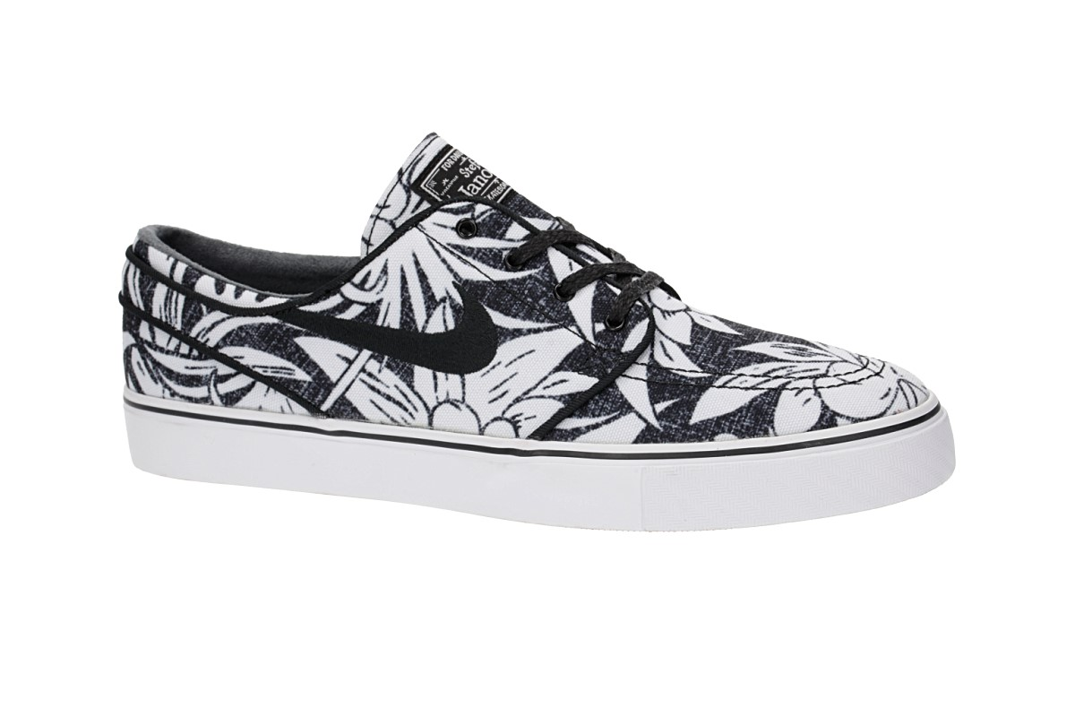 Nike SB Zoom Stefan Janoski Canvas Premium Schuh (black black white)