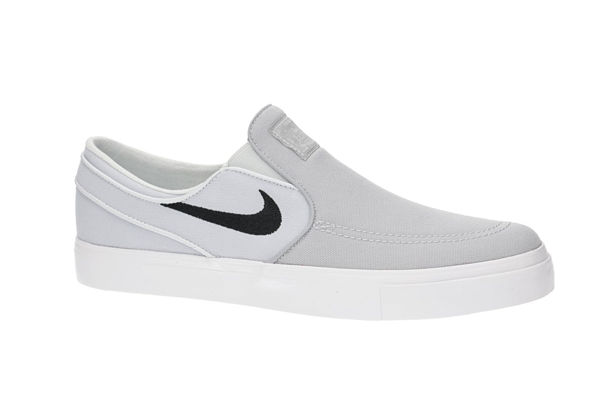 6165a333a63 Nike SB Zoom Stefan Janoski Slip Canvas Shoes (wolf grey black) buy ...