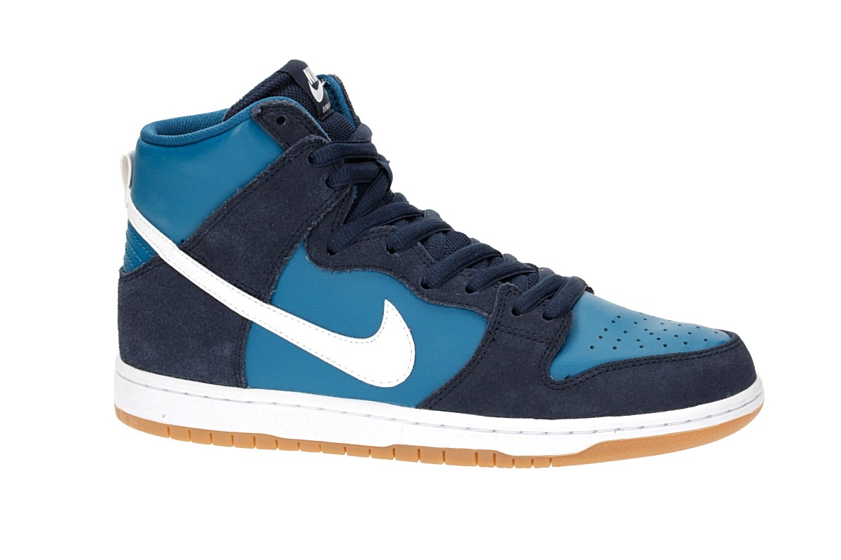 Nike SB Dunk High Pro Schuh (obsidian white industrial blue)