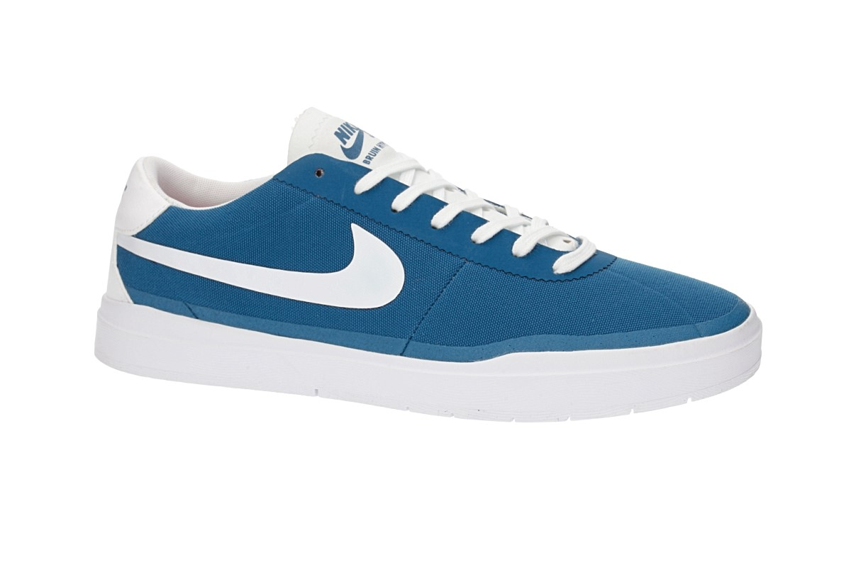 ca6320dca2c8 Nike SB Bruin Hyperfeel Canvas Shoes (industrial blue white) buy at ...