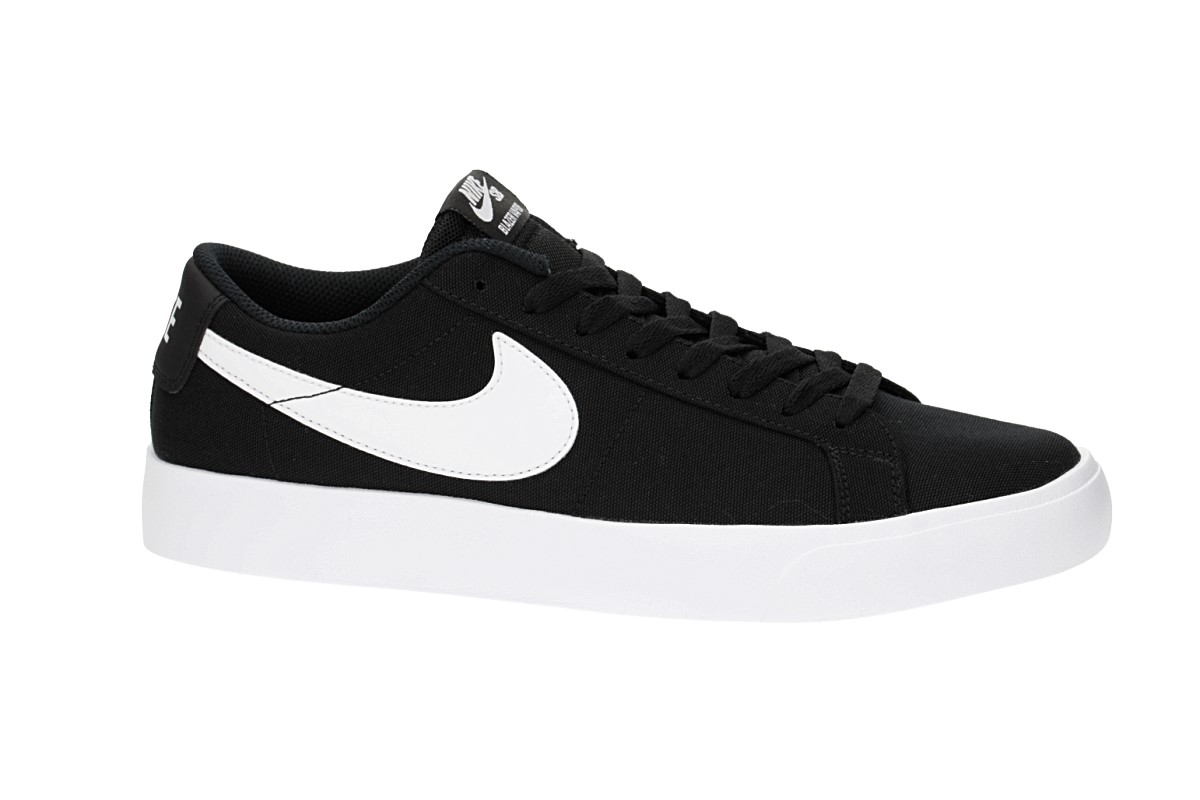 8102a6309ead23 Nike SB Blazer Vapor Textile Shoes (black white) buy at skatedeluxe
