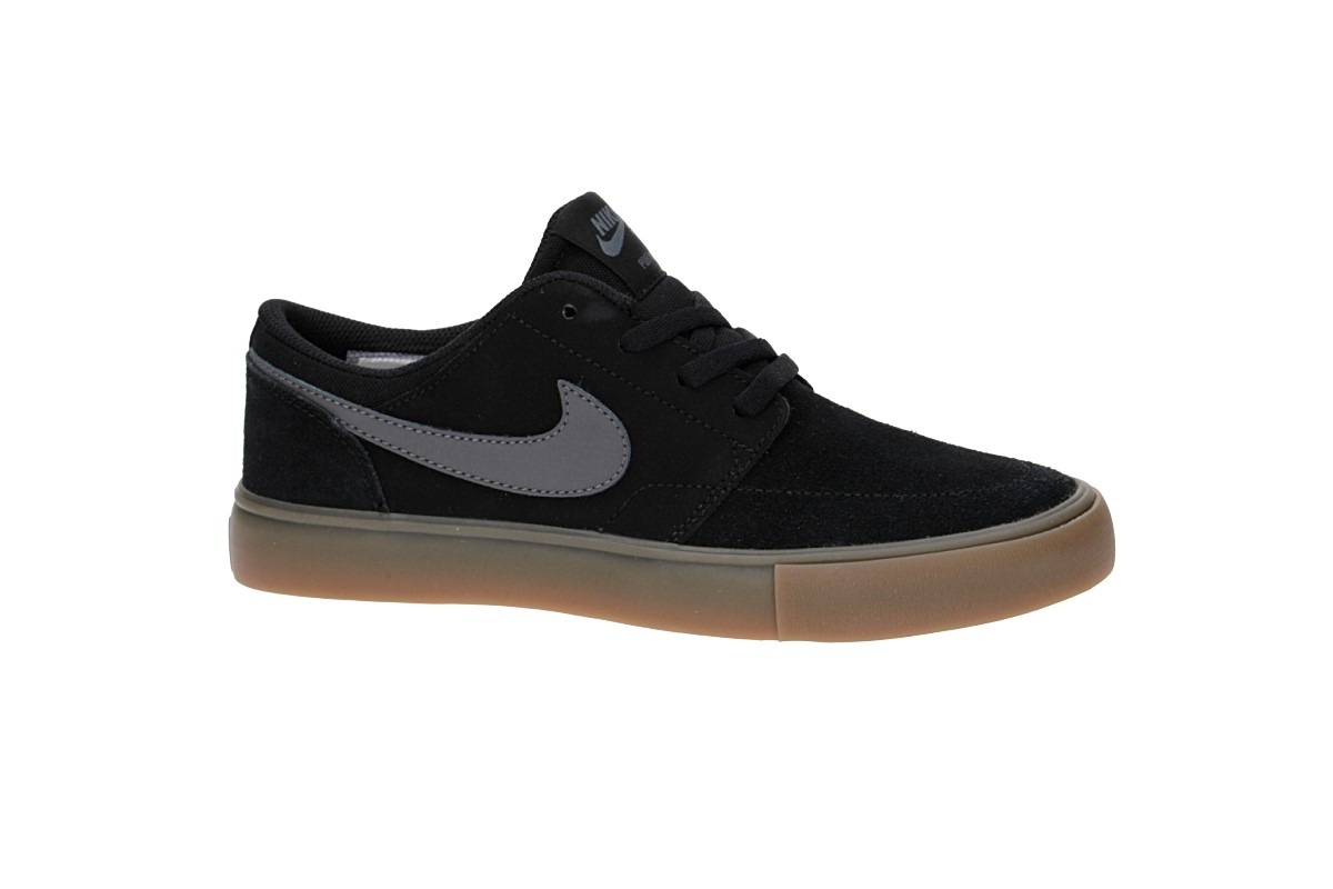 Nike SB Portmore II Scarpa (black dark grey)