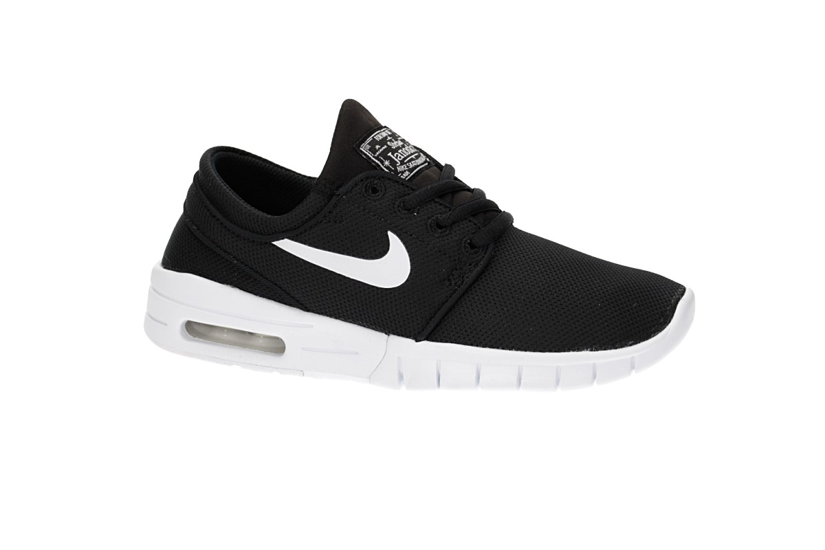 various colors cd643 4c7fc Nike SB Stefan Janoski Max Shoes kids (black white)