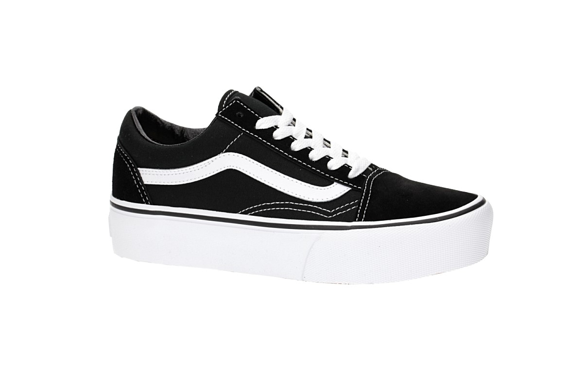 Vans Old Skool Platform Schuh women (black white)
