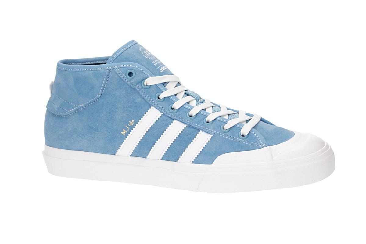 adidas Skateboarding Matchcourt Mid x MJ Schuh (blue white)