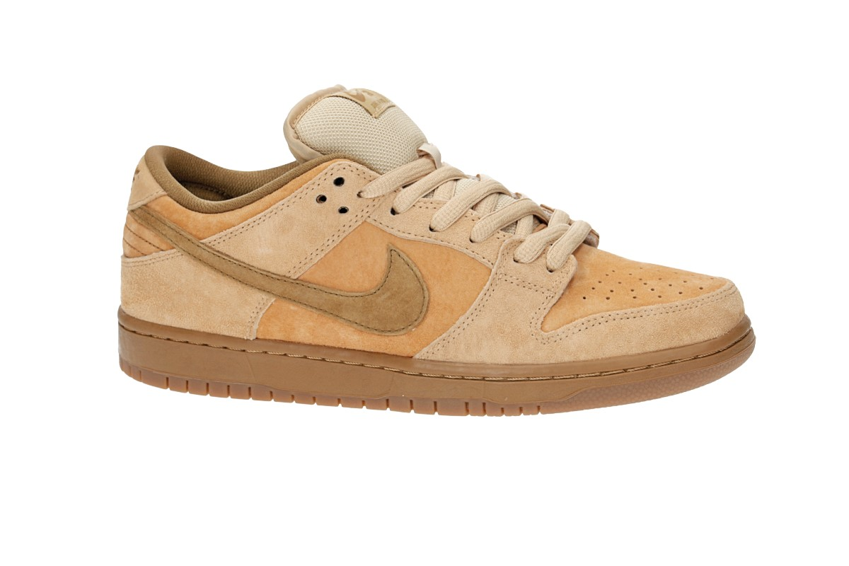 new photos ecee9 cce63 Nike SB Dunk Low Pro Shoes (dune twig wheat)