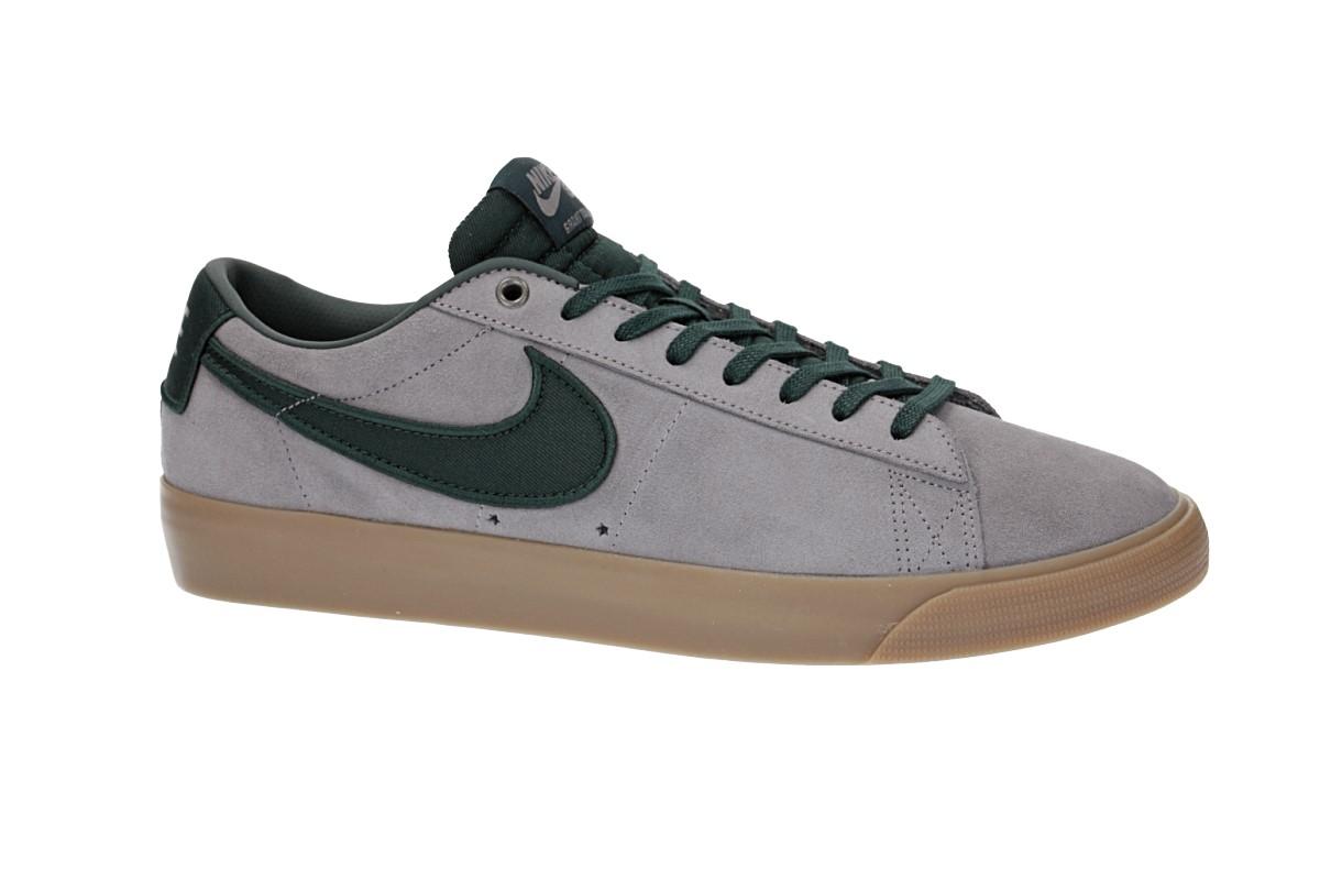 Nike SB Blazer Low Grant Taylor Shoes (gun smoke black spruce)