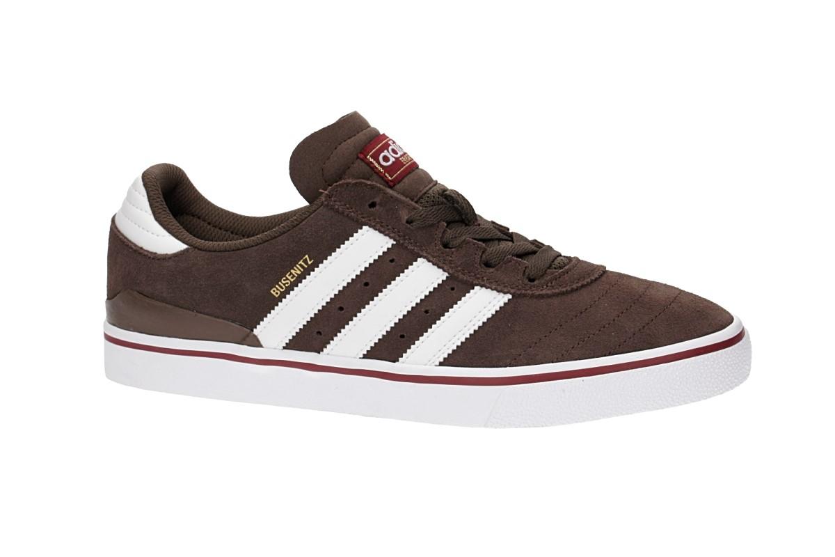 adidas Skateboarding Busenitz Vulc ADV Zapatilla (brown white burgundy)