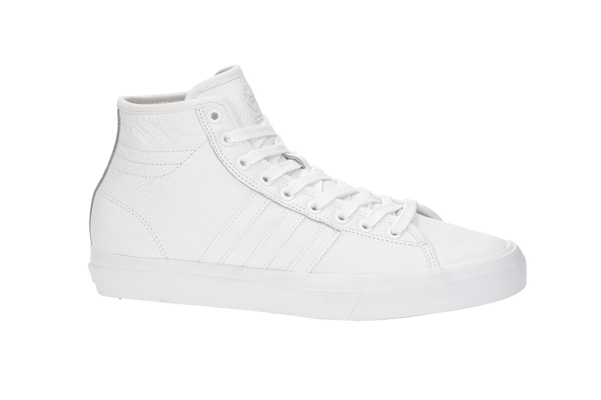 adidas Skateboarding Matchcourt High RX Leather Chaussure (white white white)