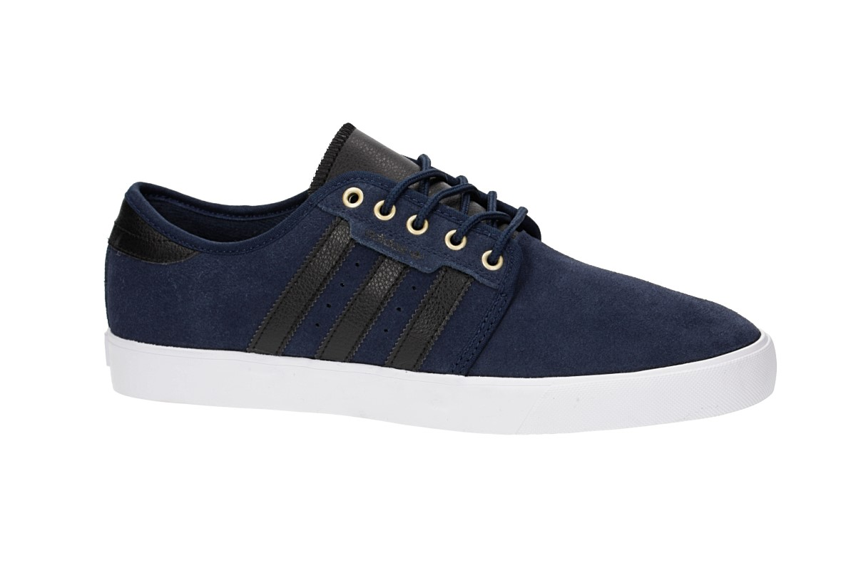 adidas Skateboarding Seeley Shoes (navy core black white)