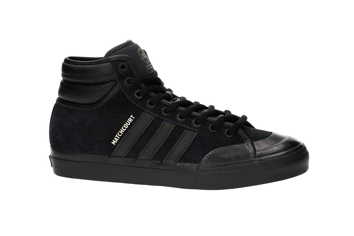 adidas Skateboarding Matchcourt High RX2 Schuh (core black core black gold)