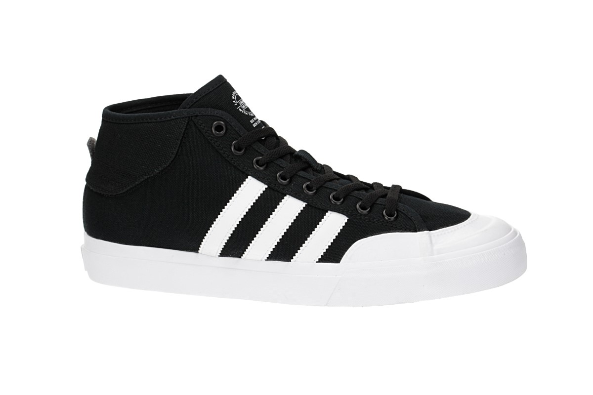 e73ead9e2b1 adidas Skateboarding Matchcourt Mid Shoes (core black white white ...