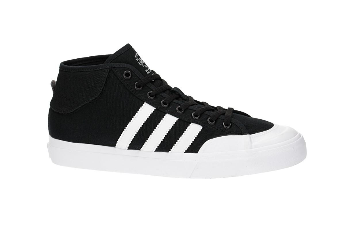 adidas Skateboarding Matchcourt Mid Scarpa (core black white white)