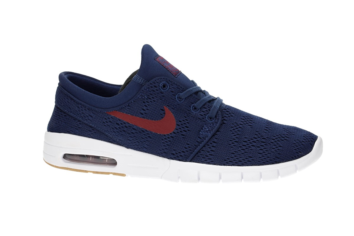 Nike SB Stefan Janoski Max Shoes (binary blue team red)