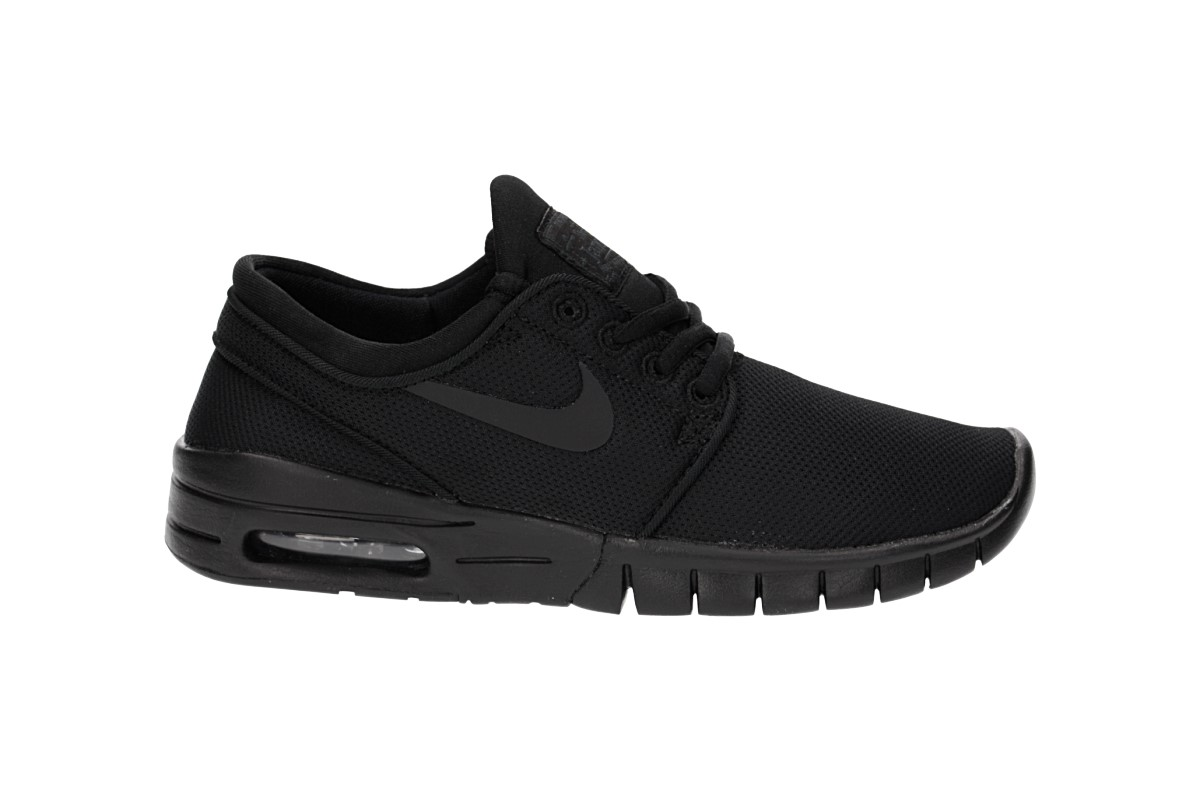 Nike SB Stefan Janoski Max Schuh kids (black black black)