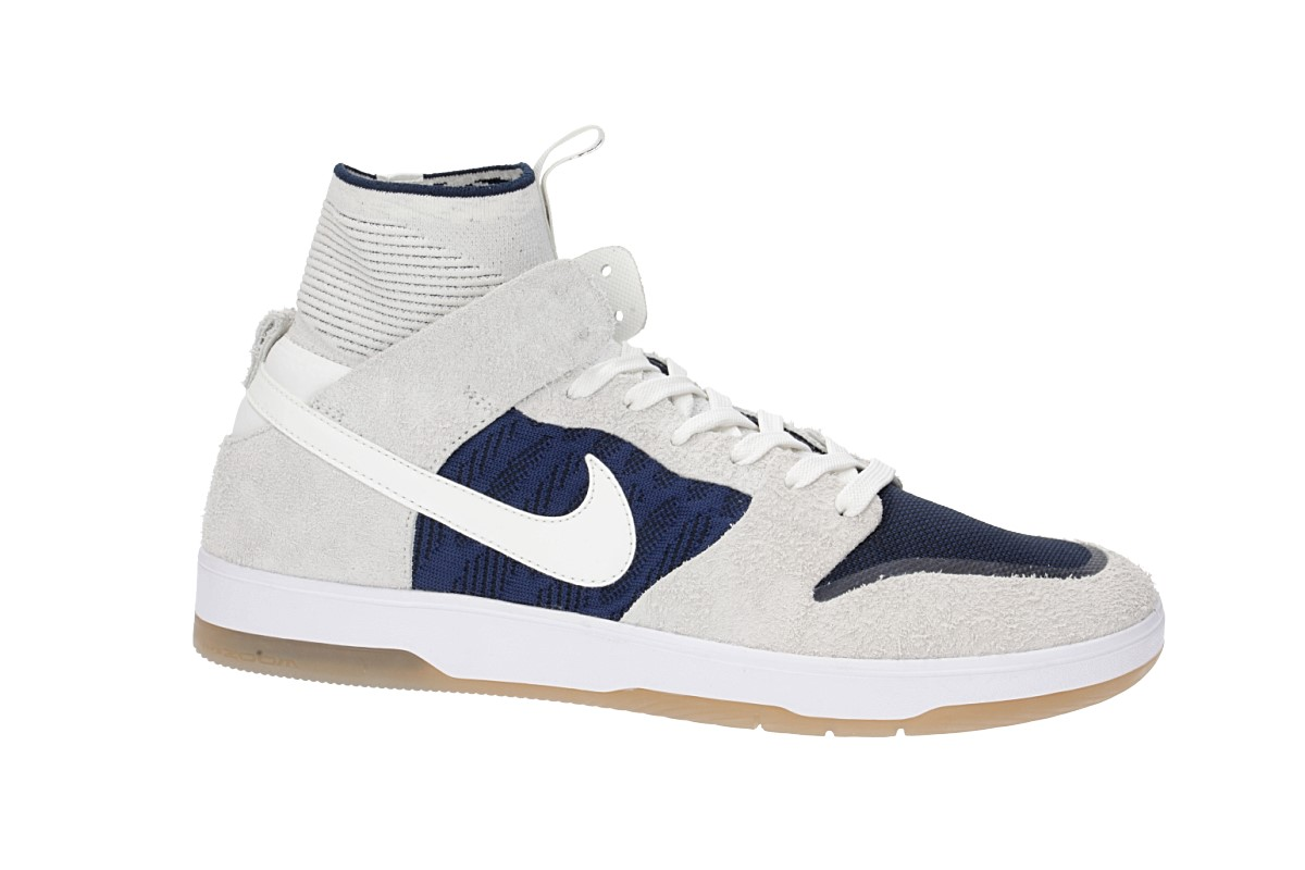 Nike SB Dunk High Elite Shoes  (sail binary blue)
