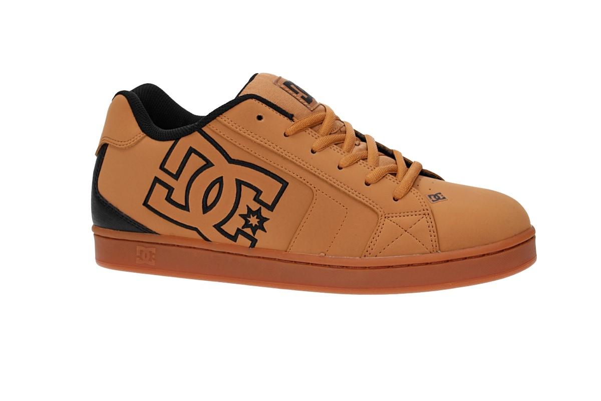 DC Net Shoes (wheat black dark chocolate)