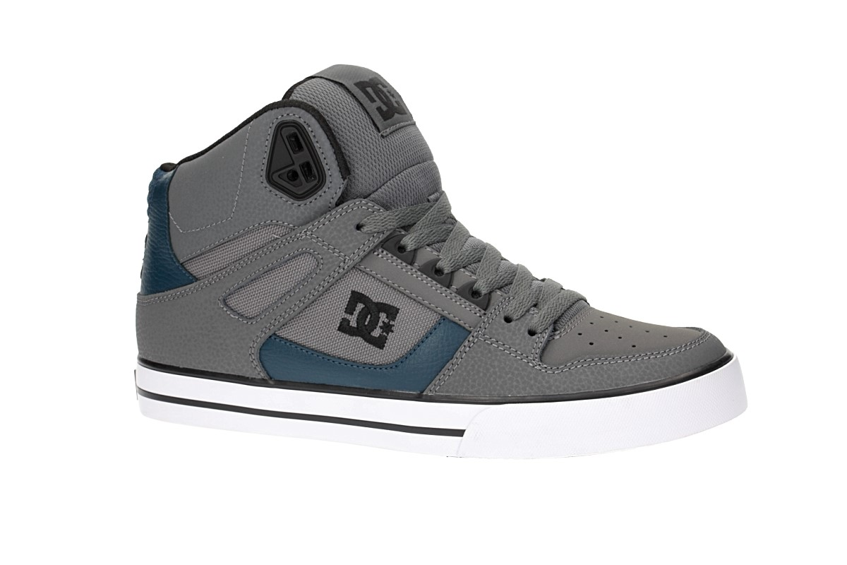 DC Spartan High WC Shoes (grey green)