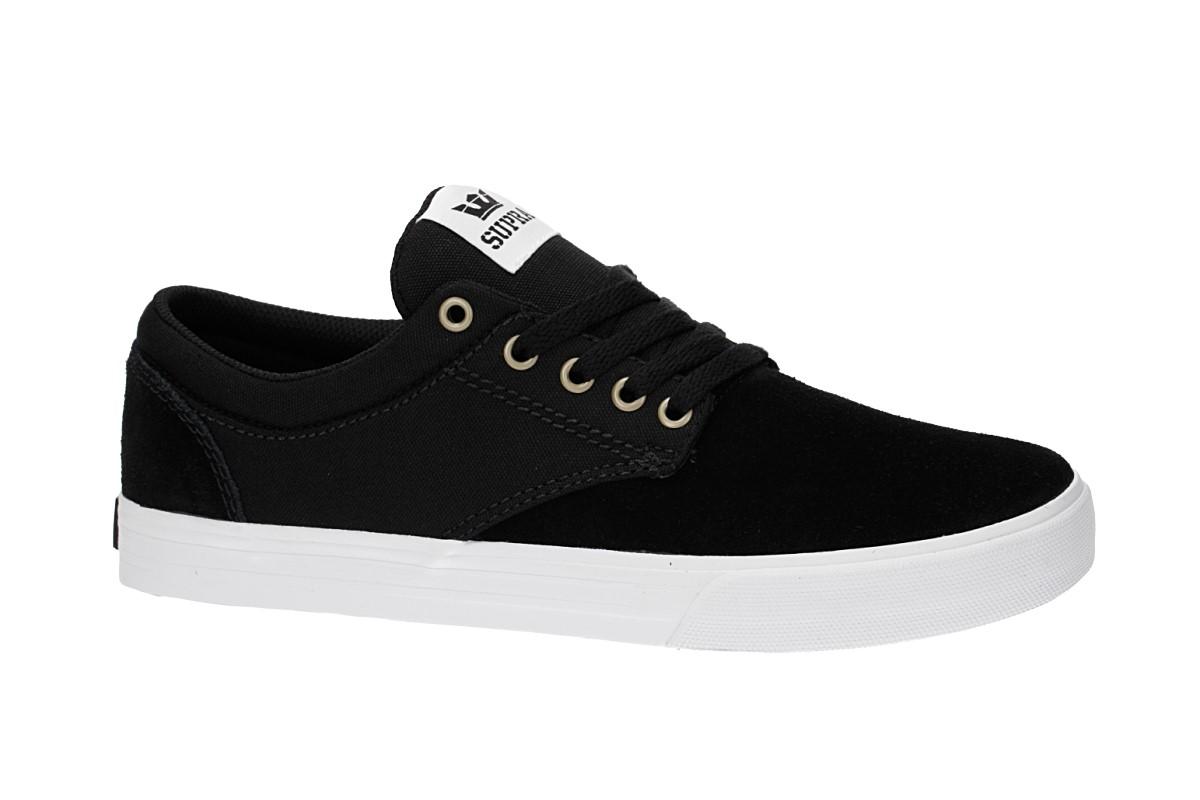 Supra Chino Shoes  (black white white)