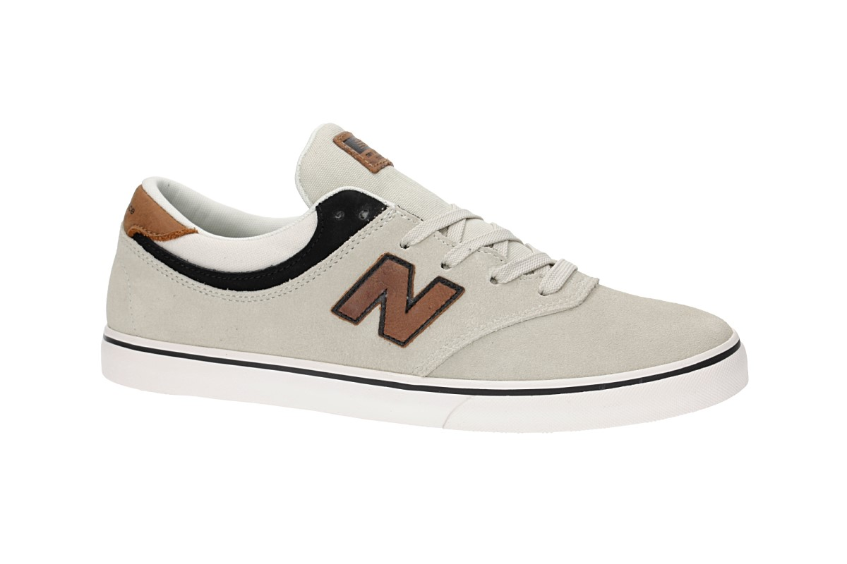 New Balance Numeric 254 Shoes (stone black tan)