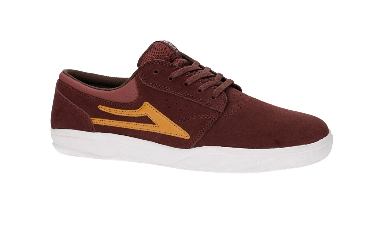Lakai Griffin XLK Suede Shoes (brick)
