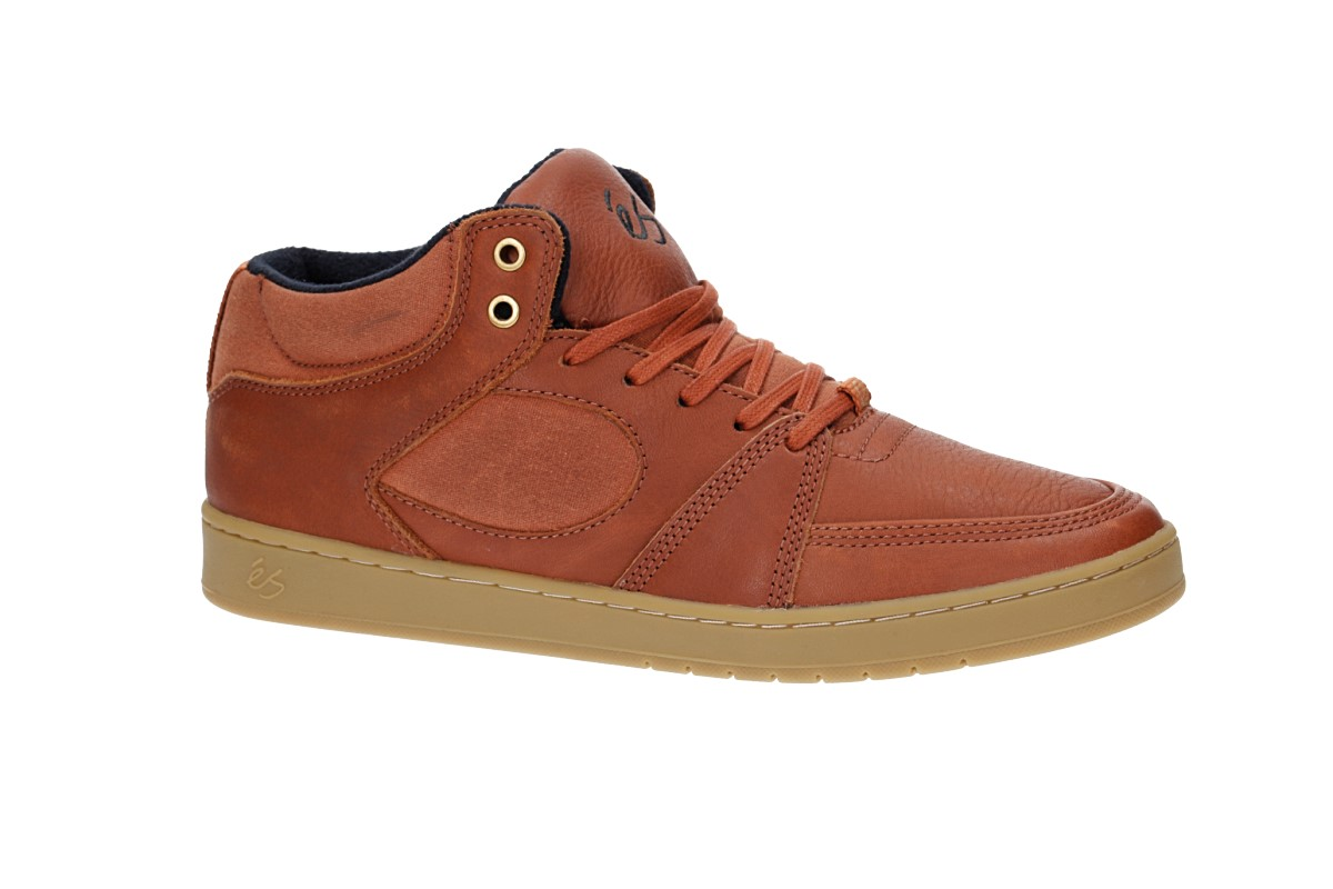 éS Accel Slim Mid Schoen  (brown gum gold)