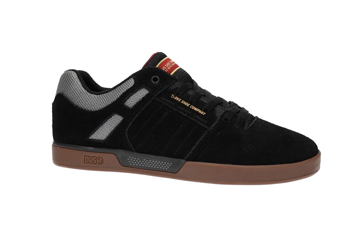 DVS Getz Suede Shoes (black gum)