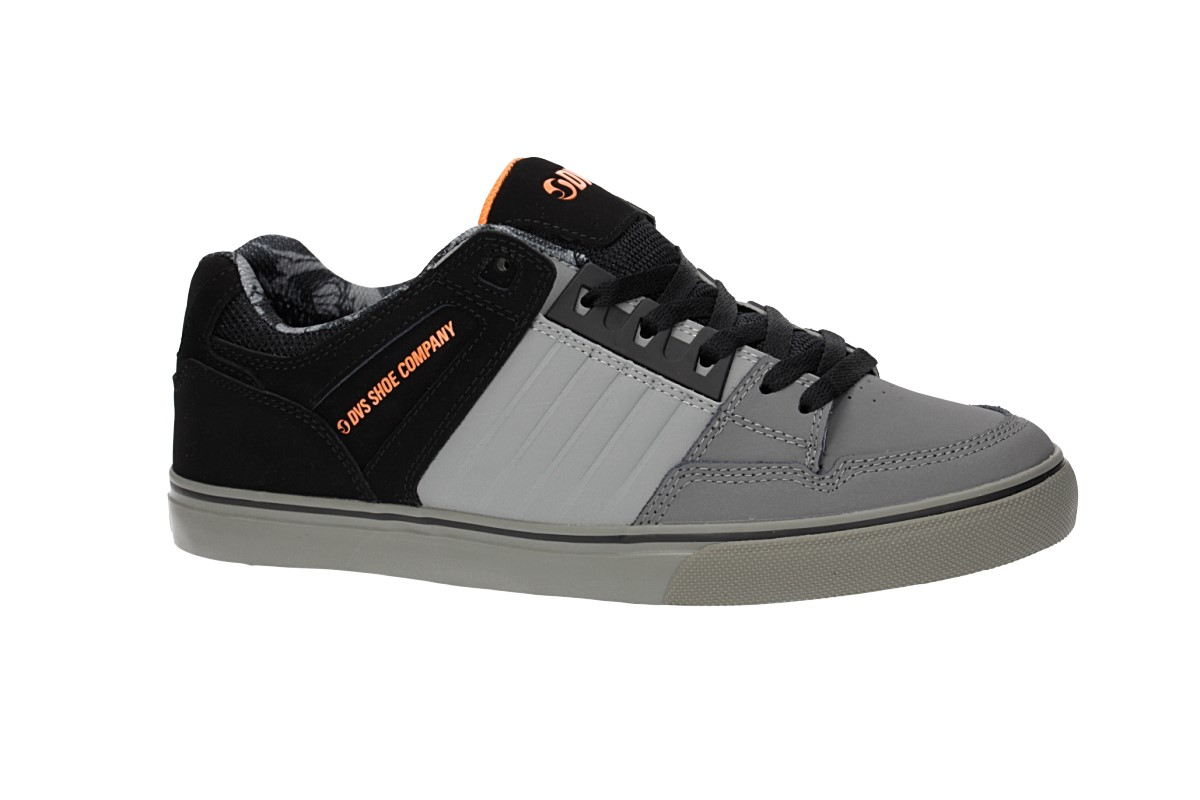 DVS Celsius CT Nubuck Shoes (charcoal grey black deegan)