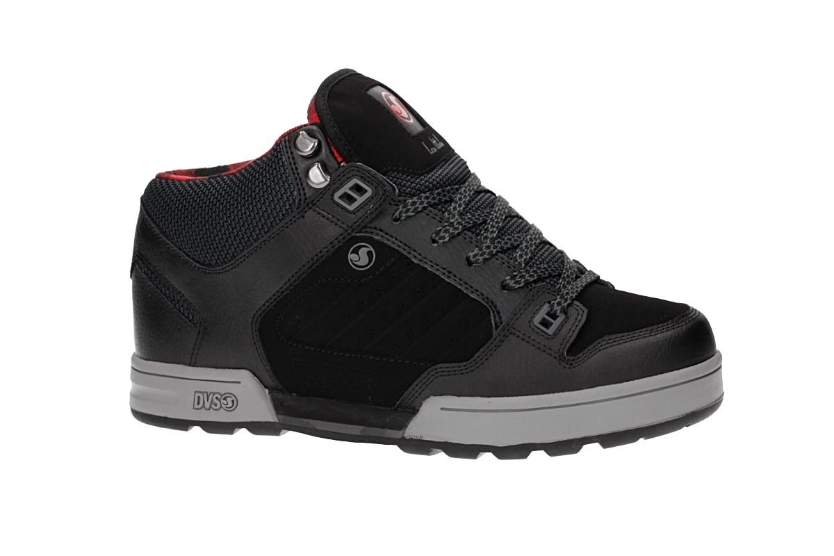 DVS Militia Boot Leather Shoes (black ettala)