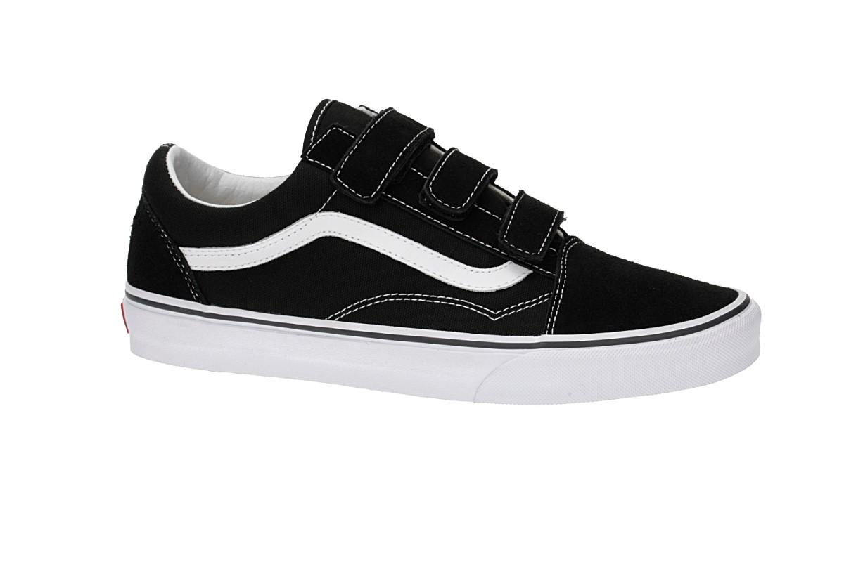 Vans Old Skool V Shoes women (black true white)