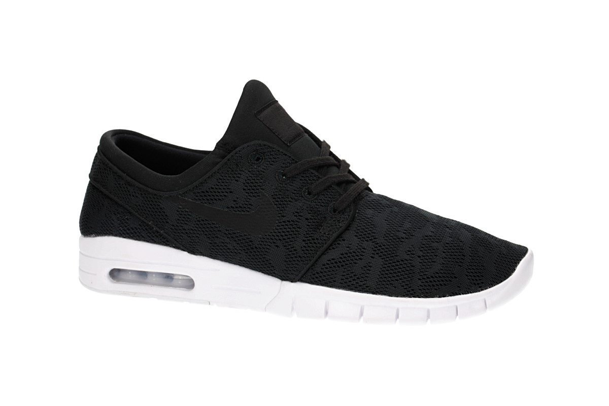 Nike SB Stefan Janoski Max Shoes (black black white)