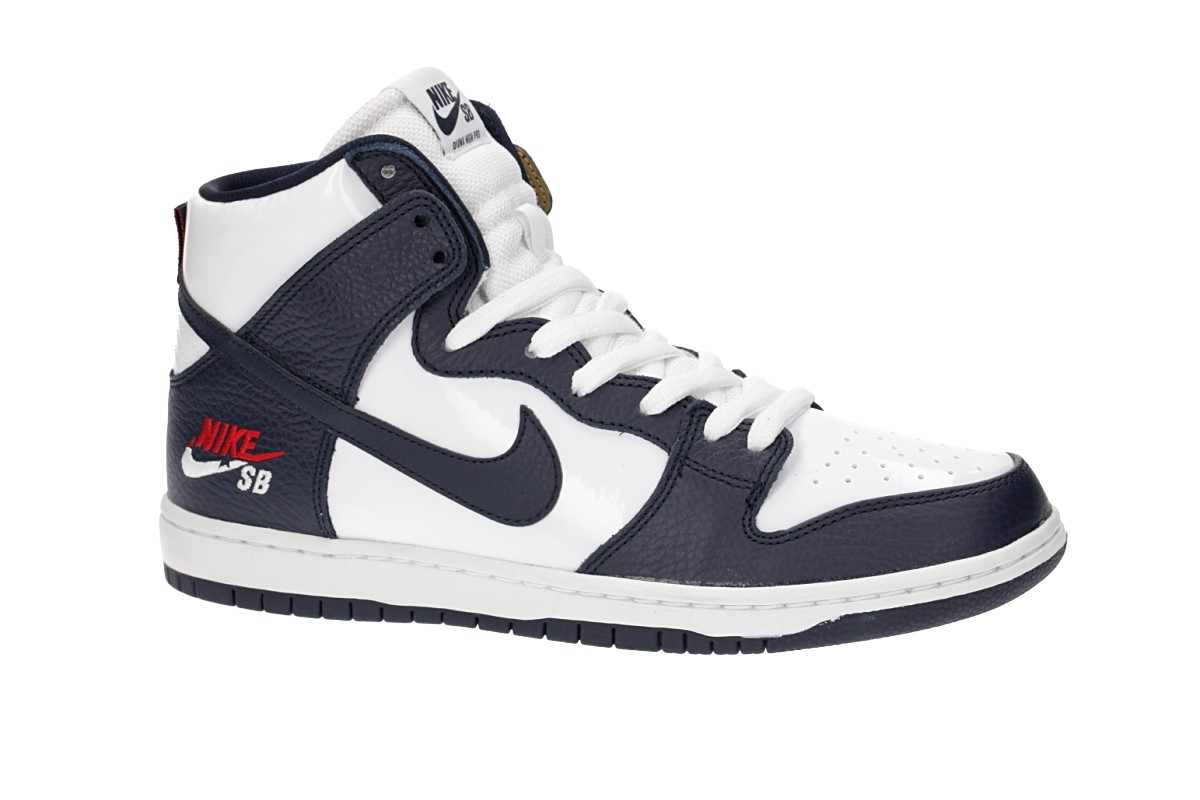 Nike SB Zoom Dunk High Pro Brian Anderson Schuh (obsidian white)