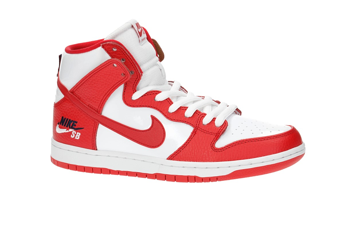 bdee1563e6a Nike SB Zoom Dunk High Pro Brian Anderson Shoes (university red white)