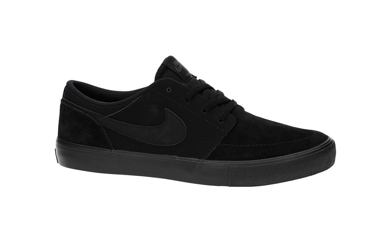 Nike SB Solarsoft Portmore II Chaussure (black black anthracite)