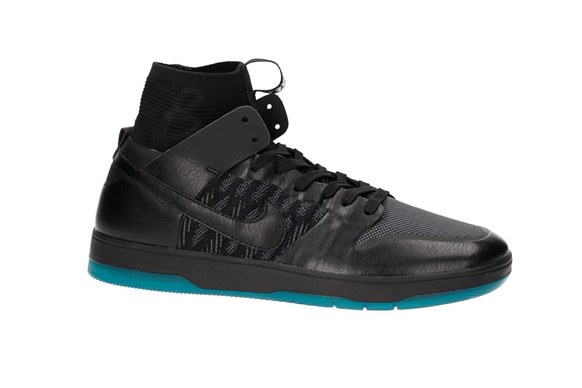 Nike SB Dunk High Elite Schuh (black dark atomic teal)