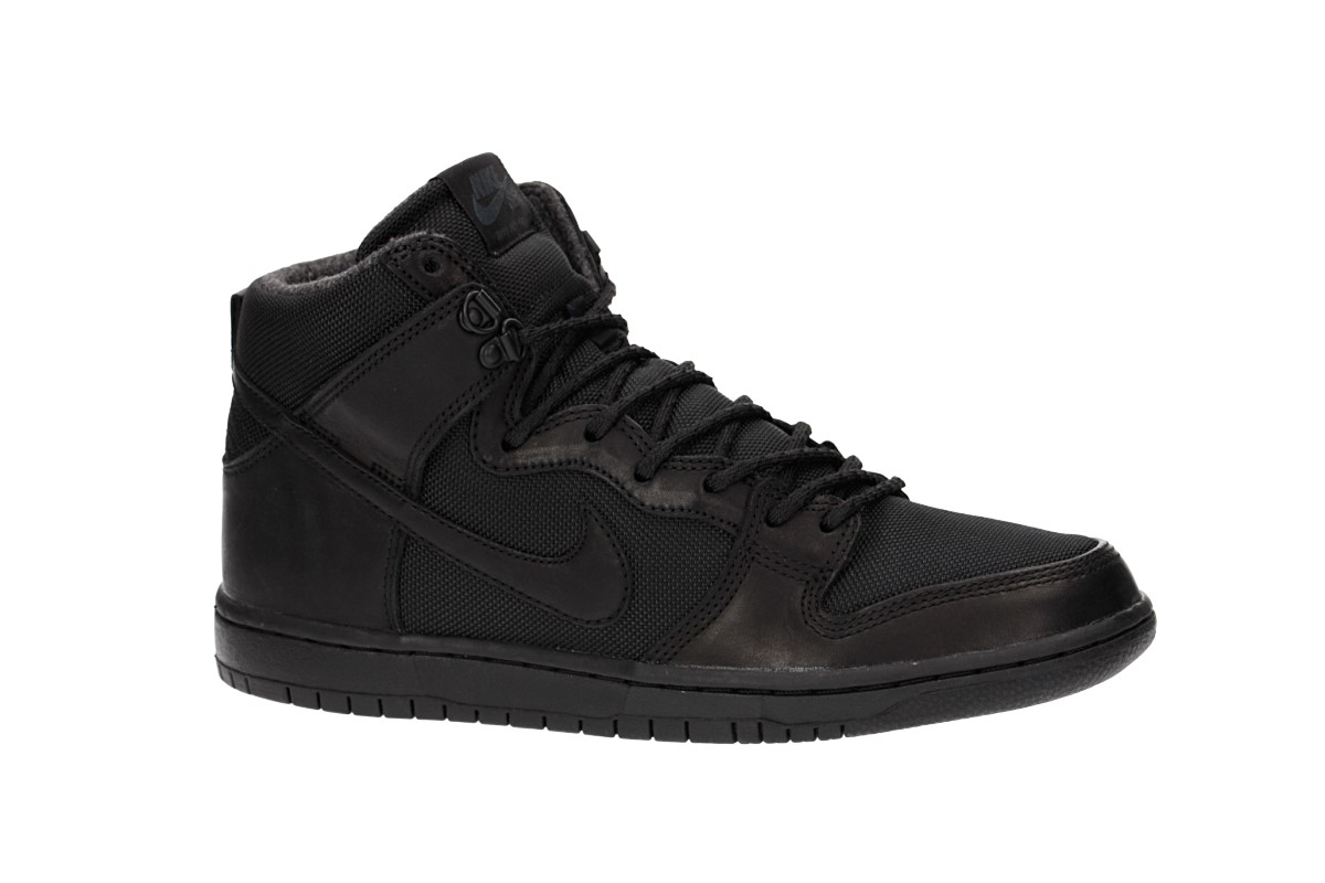 98db070a5094 Nike SB Dunk Hi Pro Bota Shoes (black black) buy at skatedeluxe