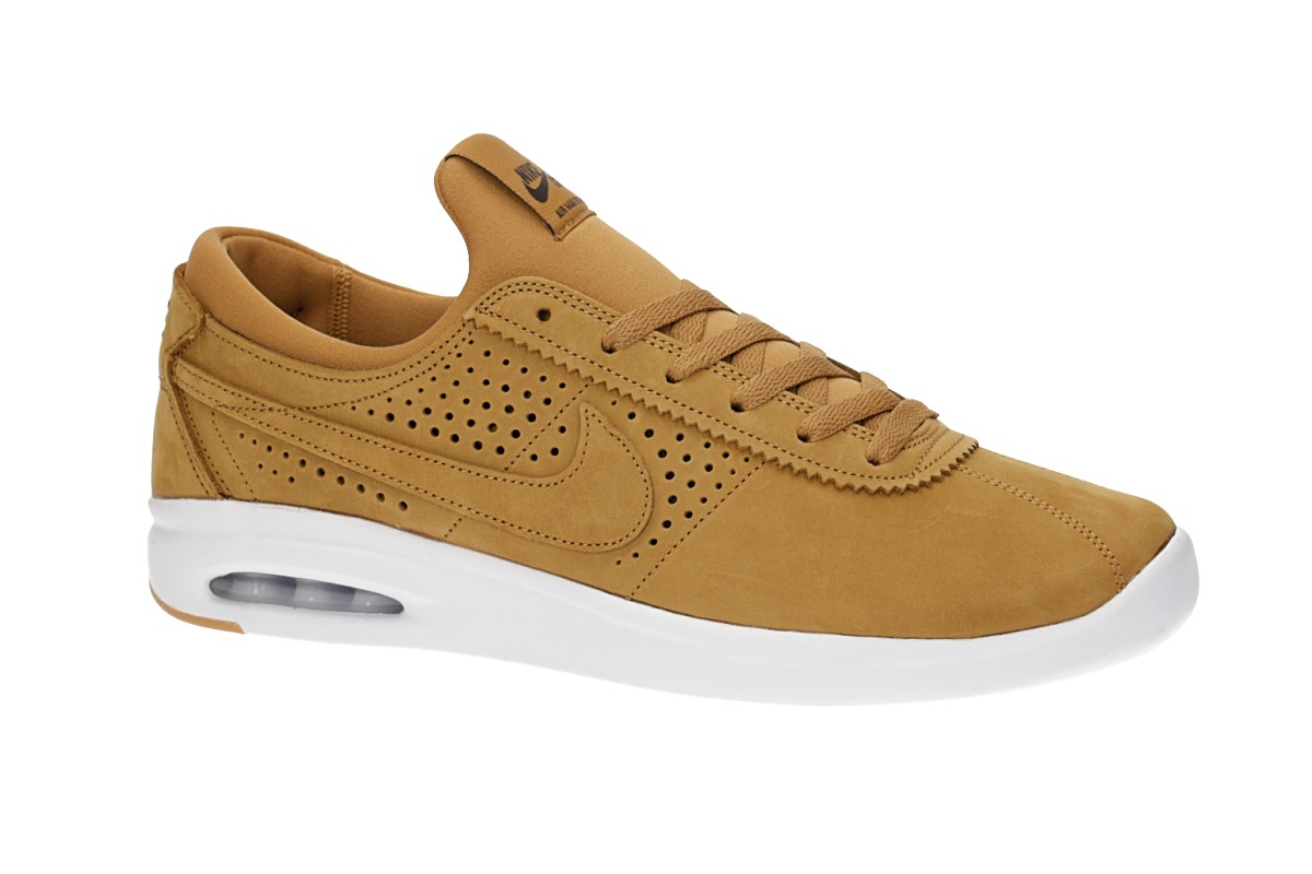 Nike SB Air Max Bruin Vapor Leather Chaussure (wheat baroque brown)