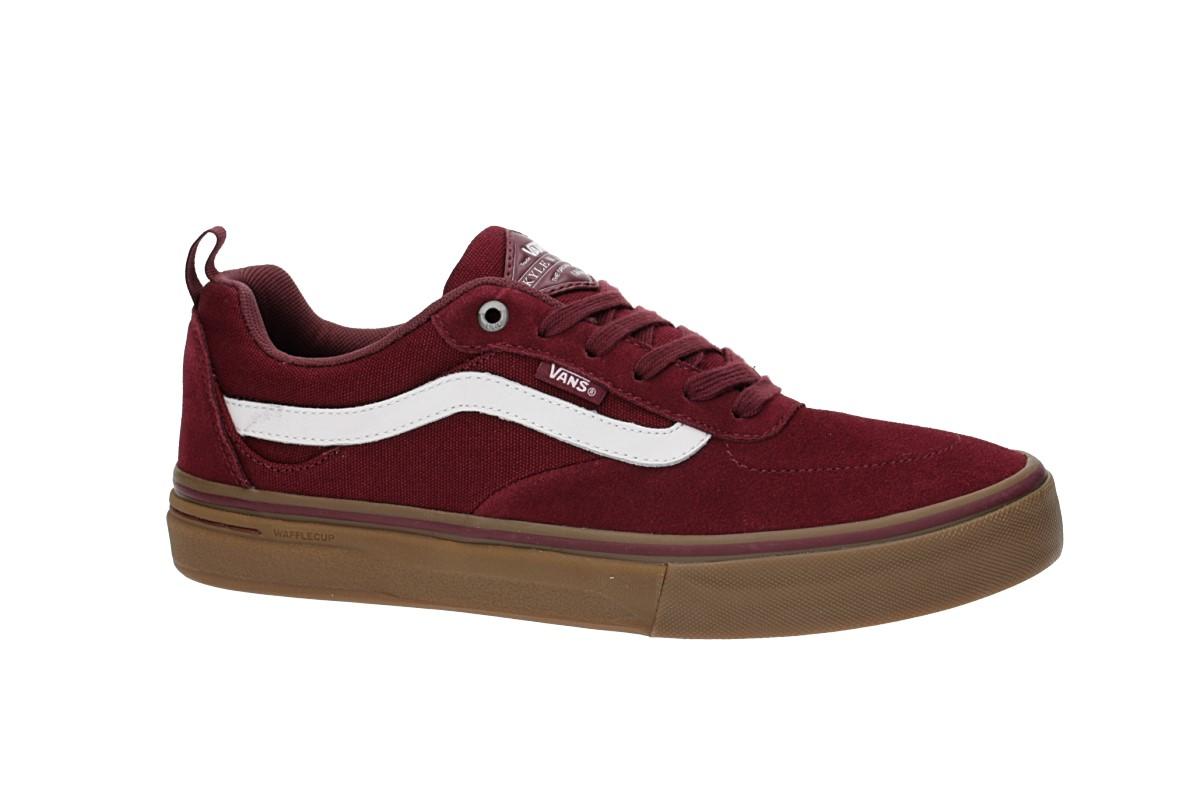 Vans Kyle Walker Pro Schuh (burgundy white gum)
